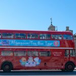 All aboard this vintage double decker bus for a Peppa Pig Afternoon Tea