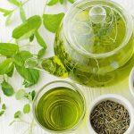 Enjoy the taste of drinking green tea