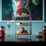 Afternoon Tea, Bluebird Cafe, Chelsea, London