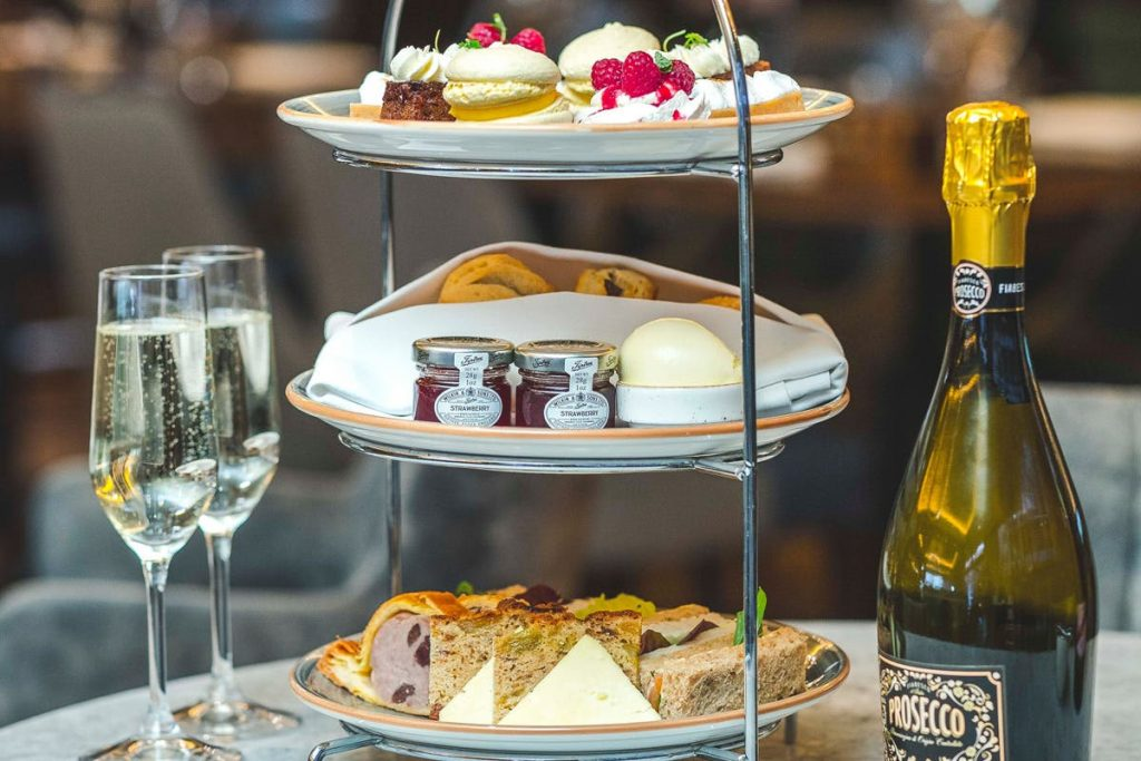 Enjoy an indulgent afternoon tea at the Grand Hotel York with the option to upgrade to a Prosecco, Champagne or Gin afternoon tea on arrival.